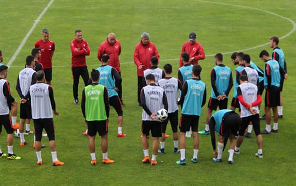 A Milli Futbol Takımı Tunus maçına hazır!