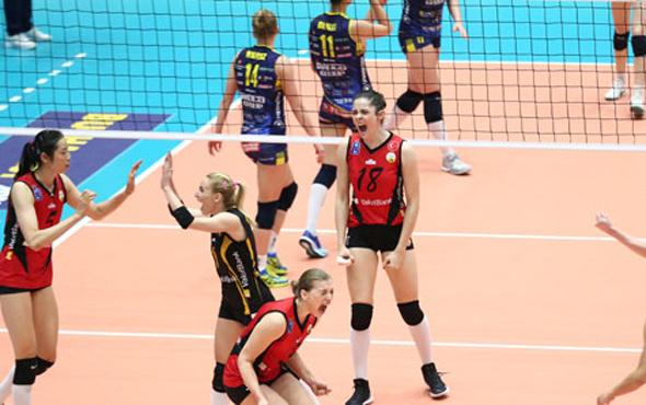 VakıfBank Şampiyonlar Ligi'nde finalde