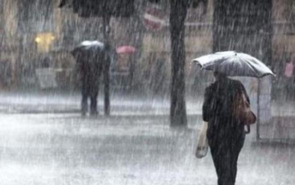 Son hava durumu raporunda sağanak uyarısı! İstanbul başta...
