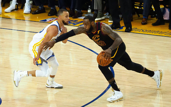 NBA finalinde ilk maç Golden State'in