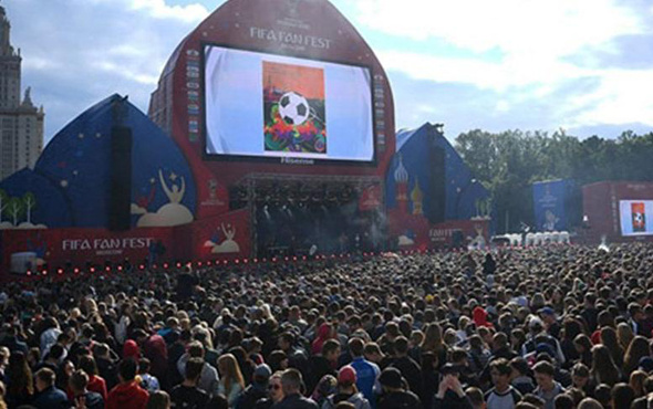 FIFA Fan Fest'in resmi açılışı gerçekleştirildi