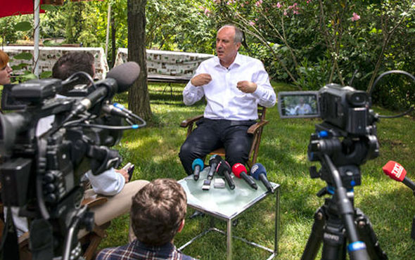 Muharrem İnce yabancı gazetecileri ağırladı