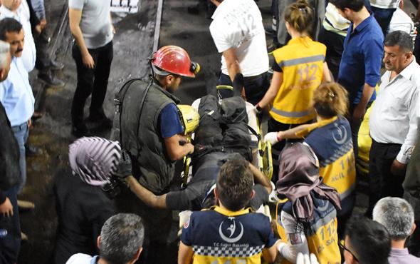 Maden ocağındaki göçükte mahsur kalan iki işçi kurtarıldı