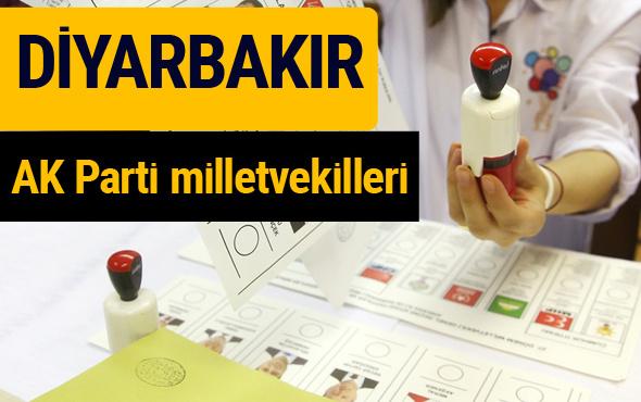 AK Parti Diyarbakır Milletvekilleri 2018 - 27. dönem AKP isim listesi