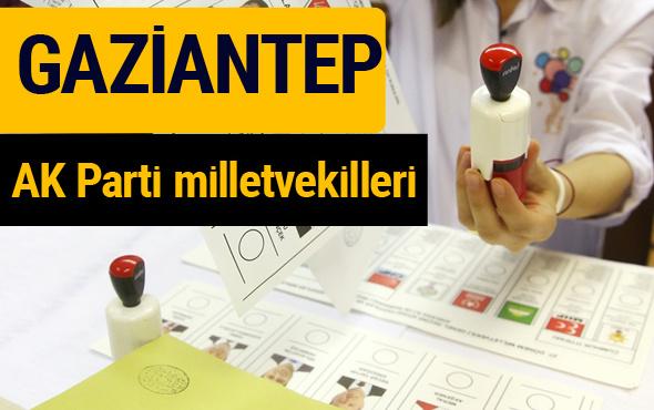 AK Parti Gaziantep Milletvekilleri 2018 - 27. dönem AKP isim listesi