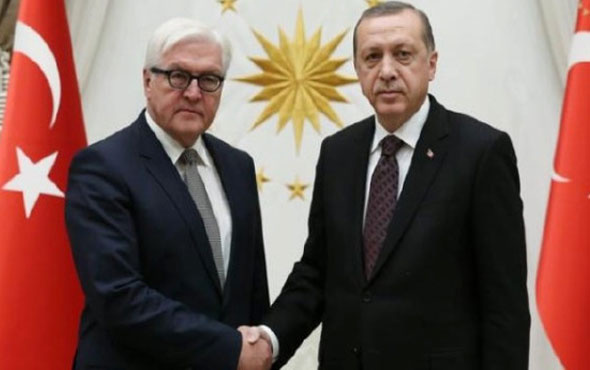Almanya Cumhurbaşkanı, Erdoğan'ı tebrik etti