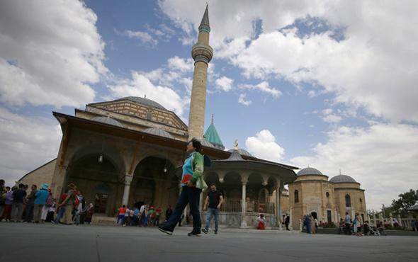 Konya Mevlana Müzesi rekora koşuyor