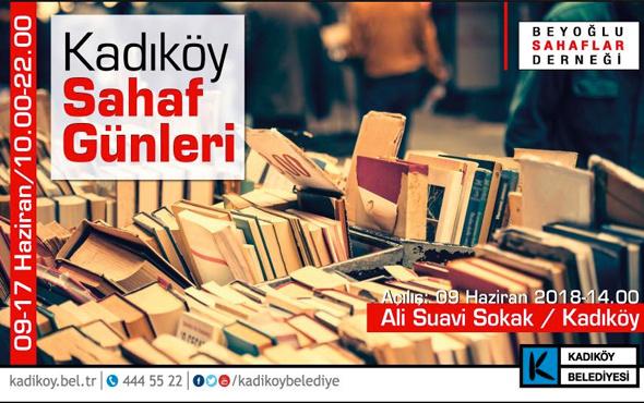 """""""Kadıköy 1. Sahaf Günleri"""" başlıyor"""
