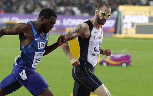 Ramil Guliyev'den yarışma rekoru