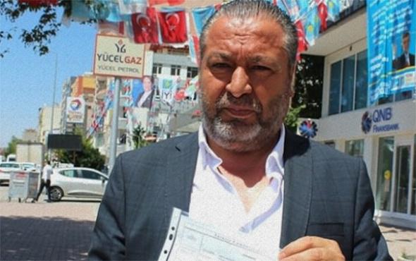 AK Parti'ye destek için İYİ Parti'den istifa etti!