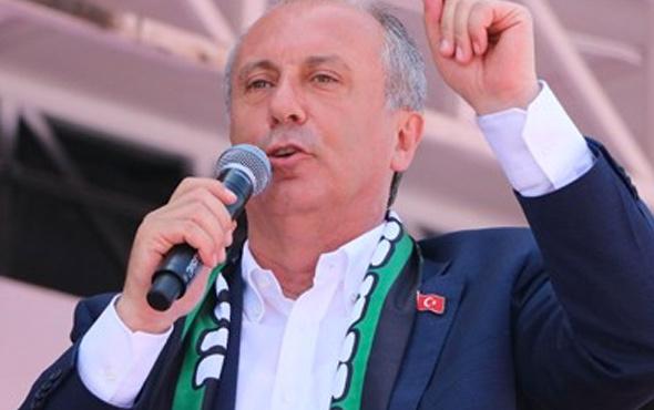 Muharrem İnce'den Erdoğan'a Erdal İnönü yanıtı