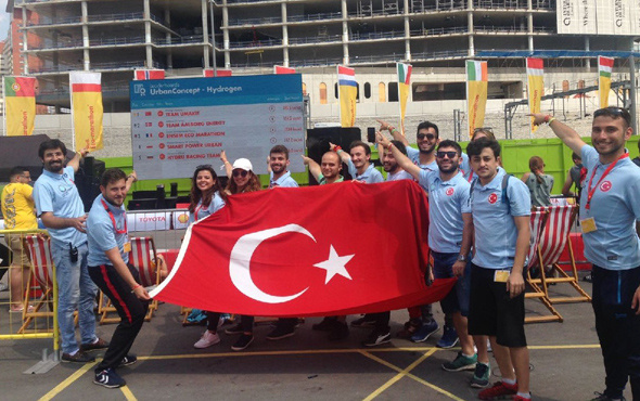 Türk öğrencilerden gururlandıran birincilik!