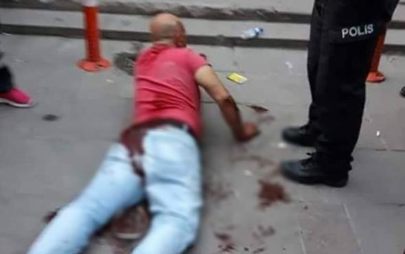 Tacizciye sokak ortasında hadım! Ankara'da şok görüntüler