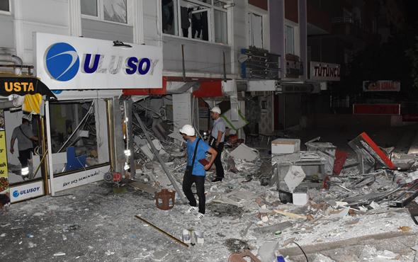 Samsun'da doğalgaz patlaması ortalık savaş alanına döndü