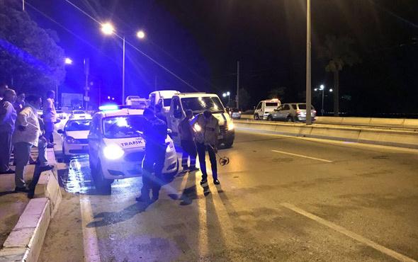 Otomobilin çarptığı baba ve kızı hayatını kaybetti
