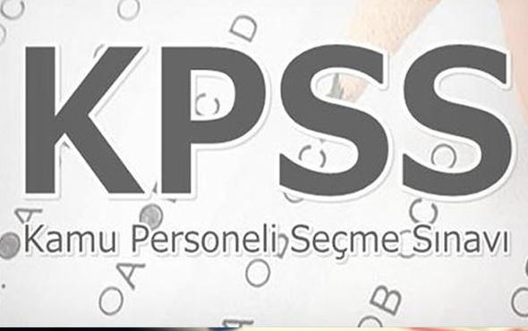 KPSS sınav kaçta başlıyor kaç soru var ÖSYM KPSS aday duyurusu