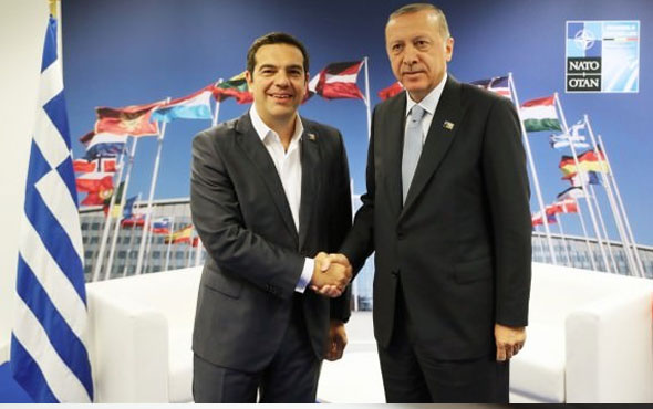 Başkan Erdoğan'dan Çipras'a telefon!