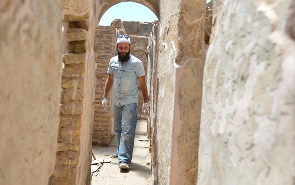 Harran'da Emeviler Dönemi'nde yapılan tuvaletler bulundu