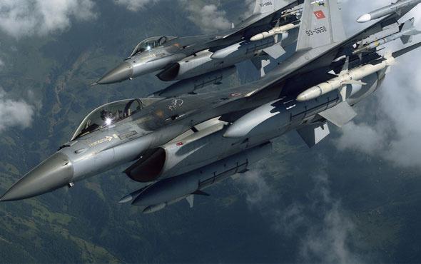 TSK havadan bombaladı: 12 terörist etkisiz hale getirildi!