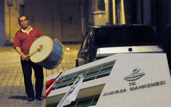 AYM'den 'ramazan davulu' ile ilgili karar!