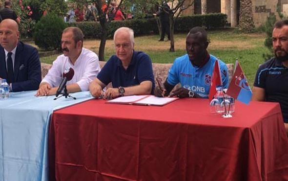 Trabzonspor'da Zargo Toure imzayı attı