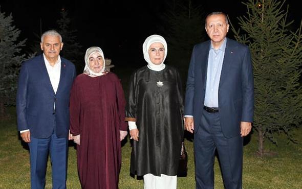 Erdoğan'dan Yıldırım'a anlamlı ziyaret