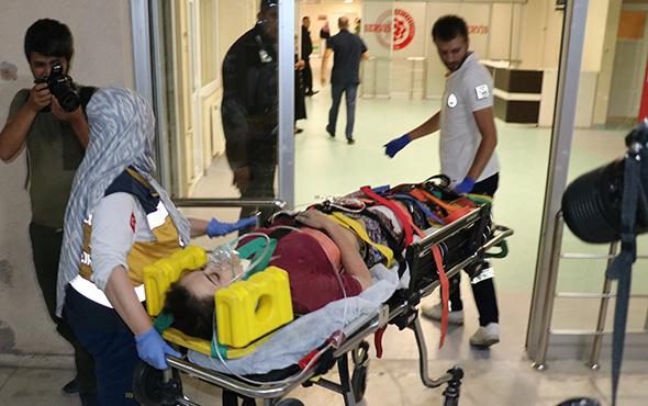 Çöken tavanın altında kalan baba öldü, kızı yaralandı!