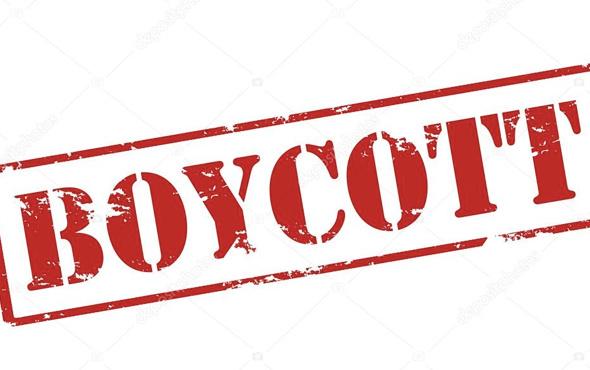 ABD menşeli boykot listesi…