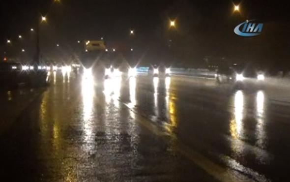 Tatilciler dikkat! Bolu'da yoğun yağış