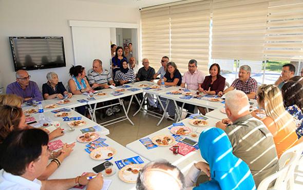 Engelli Mola Evleri STK'lara anlatıldı