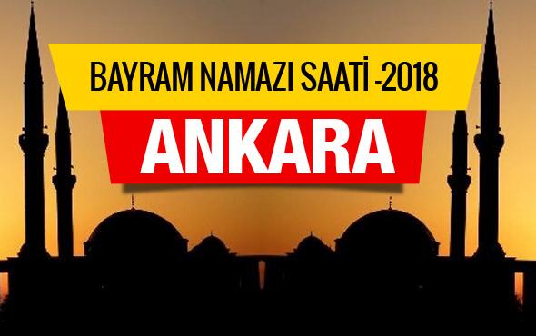 Ankara bayram namazı saatini diyanet açıkladı bu sene kaçta?