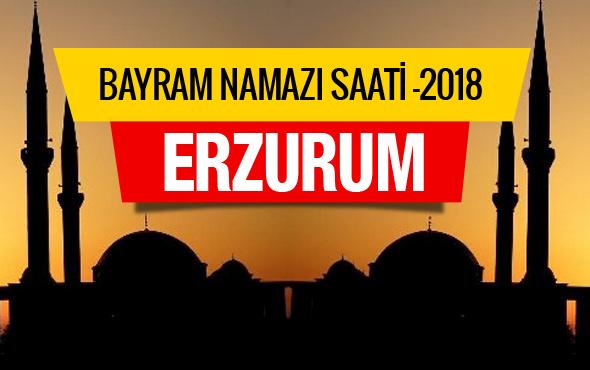 2018 Bayram Namazı saatleri - Erzurum namaz vakti