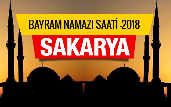 Diyanet Bayram namazı vakitleri 2018 - Sakarya saati
