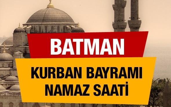 Kurban bayramı Batman namaz saati 06:15