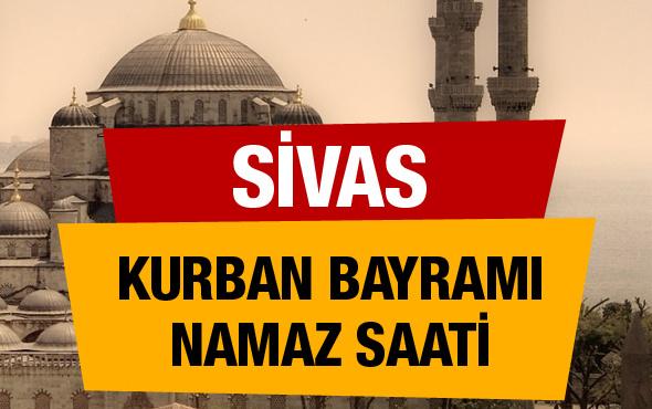 Diyanet açıkladı Sivas Kurban bayramı namaz saati
