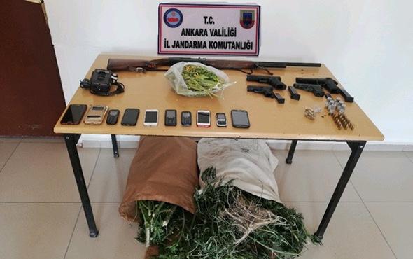 Başkent'te uyuşturucu çetesine darbe: Çok sayıda gözaltı var!