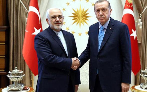 Erdoğan, İran Dışişleri Bakanı ile görüştü