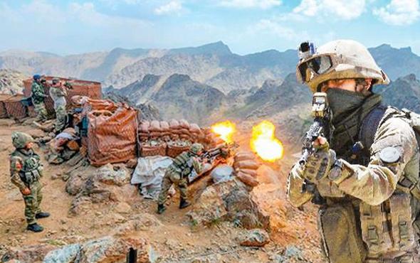 PKK'ya ağır darbe! 2'si üst düzey 35 terörist öldürüldü