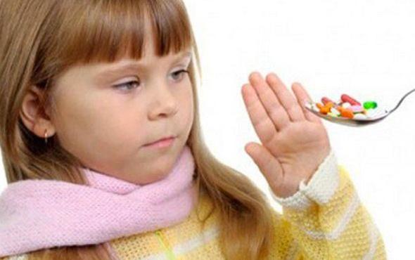 Çocuğunuz hastalandığında antibiyotik vermeyin, ıhlamur içirin