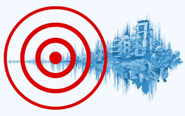 Antalya'da 4.8 şiddetinde depremle sarsıldı