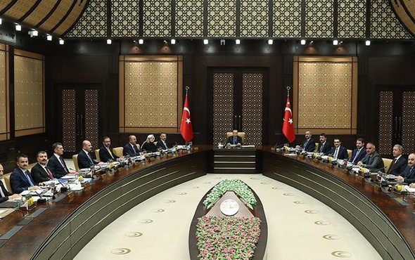 Kabine Erdoğan başkanlığında toplandı