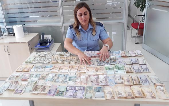 Pendik'te dilencinin üzerinden 15 farklı para birimi çıktı