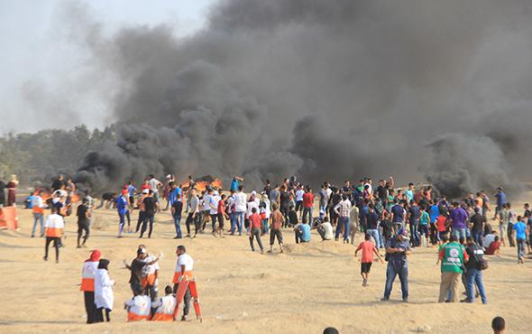 İsrail saldırdı! Şehit haberleri geldi