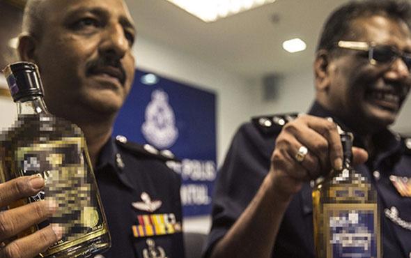Malezya'da 19 kişi sahte içkiden öldü!