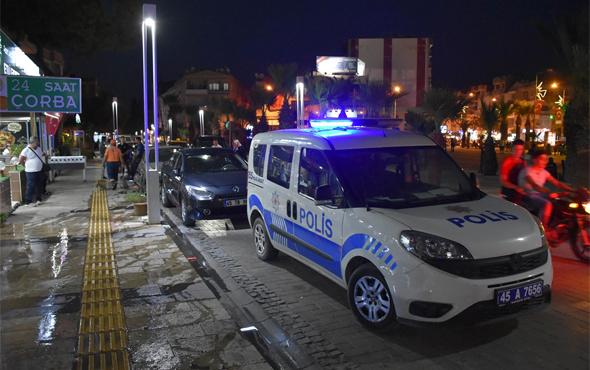 Manisa'da pizza salonuna silahlı saldırı