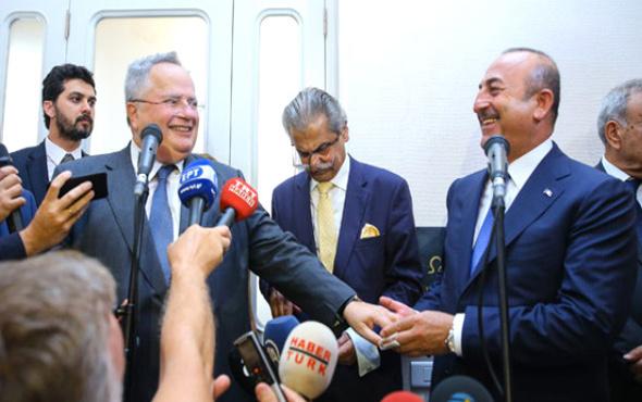 Yunan bakan panikledi Çavuşoğlu sakinleştirdi!