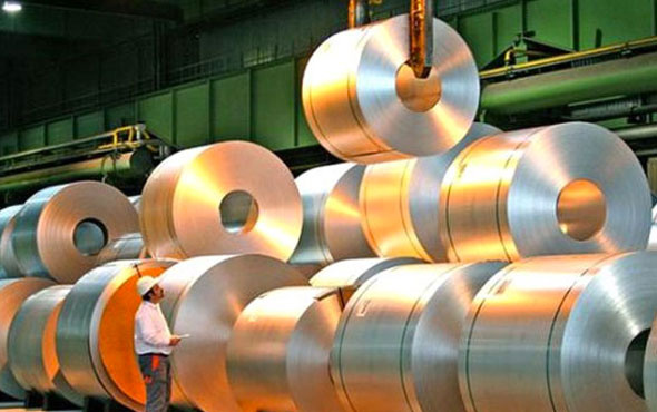 Çelik ihracatı 8 ayda 9.6 milyar dolara ulaştı