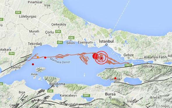 Marmara Denizi'nde endişelendiren hareketlilik!