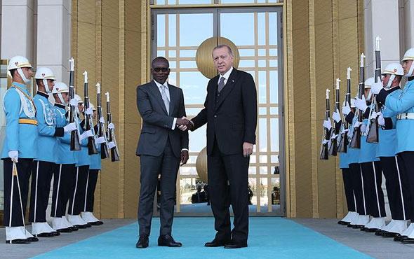Erdoğan, Benin Cumhurbaşkanı ile görüştü
