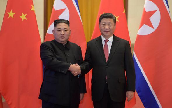 Çin'e giden Kim'in aklı Trump'ta
